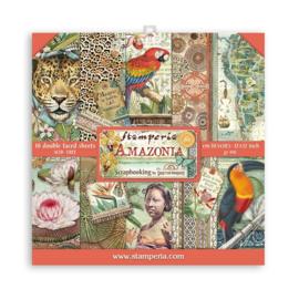 "12"" PaperPad Stamperia - Amazonia"