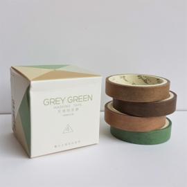 Masking Tape set - Grey Green