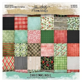 PaperPad Tim Holtz - Mini Stash Christmas 8""