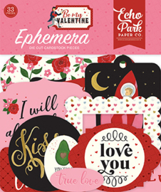 Die-Cuts Echo Park - Be My Valentine