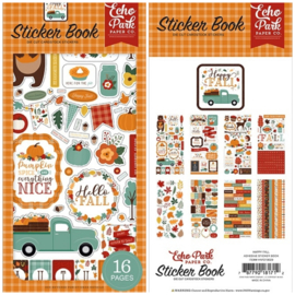 Echo Park Stickers - Hallo Fall sticker book