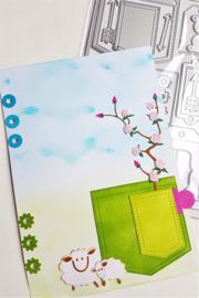 Snijmal CraftEmotions - Planner essentials 1 (set 20 stuks)