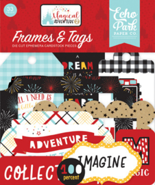 Die-Cuts Echo Park - Magical Adventure 2 (Frames & Tags)