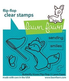 Clear Stamp Lawn Fawn (flip-flop) - Butterfly Kisses