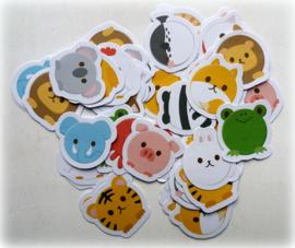 Planner Stickers - Wilde Vrienden  (set 45 stuks)