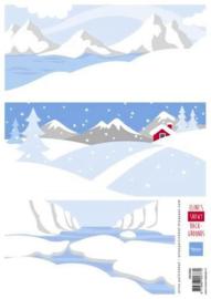 Knipvel Marianne Design - Eline's  Snowy