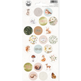 Piatek13 Sticker sheet - Forest Tea Party 03