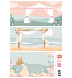 Knipvel Marianne Design - Wedding Background