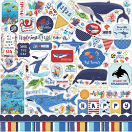 Carta Bella stickers - Fish are Friends