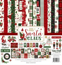 "PaperPad Echo Park - Here comes Santa Claus (12"" Kit)"