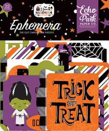 Die-Cuts Echo Park - I Love Halloween