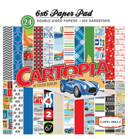 """PaperPad CartaBella - Cartopia 6"""""""