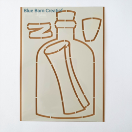 Marianne  Design Stencil - Flessenpost