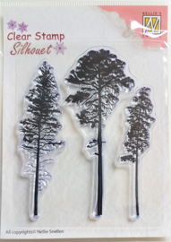 Clear Stamp Nellie Snellen - 3 Pinetrees
