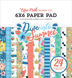 """PaperPad Echo Park - Dive into Summer 6"""""""