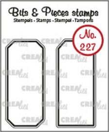 CreaLies clear stamp - Labels