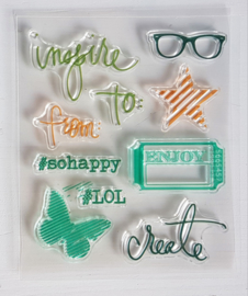 Clear Stamp - Inspire