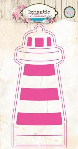Studio Light Cardshape stencil A5 - Romantic Summer 02