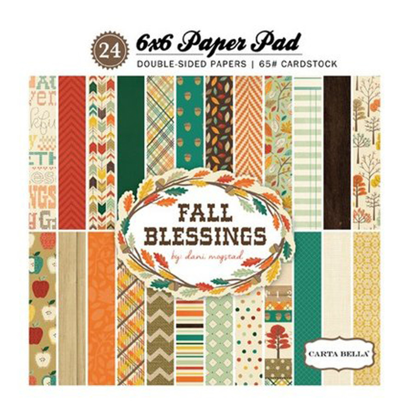 PaperPad CartaBella - Fall Blessings 6""