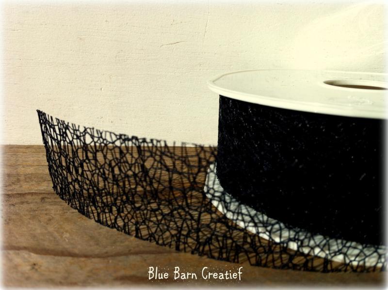 Crispy Lint 30 mm - Zwart