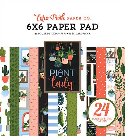 """PaperPad Echo Park - Plant Lady 6"""""""