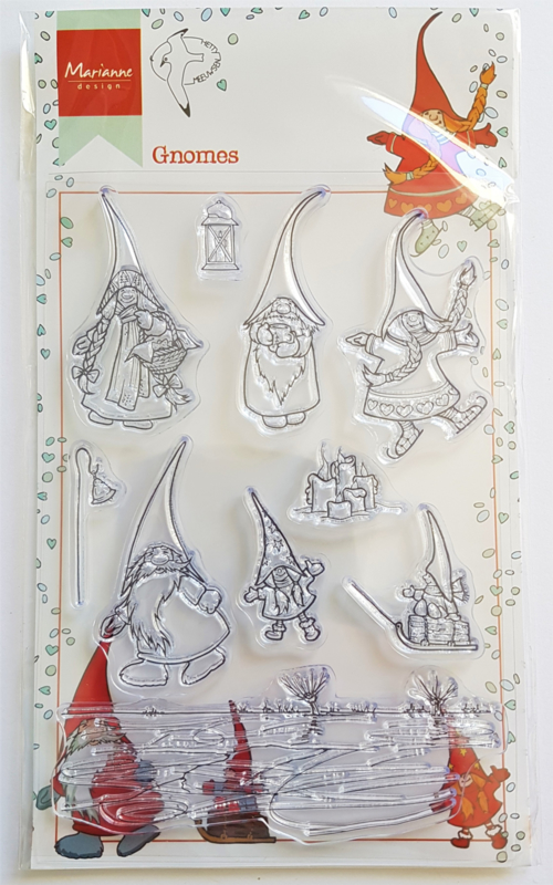 Clear Stamp Marianne Design - Gnomes