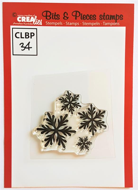 Clear Stamp - CLBP34 - Bits & Pieces