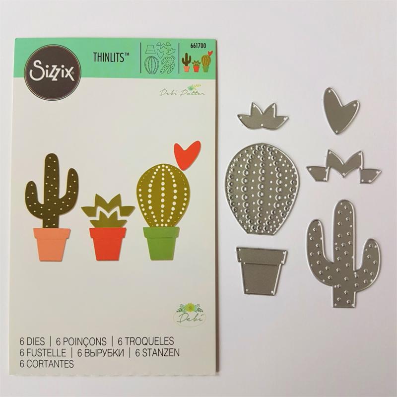 Snijmal Sizzix - Cactus