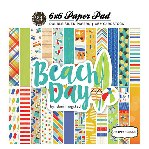 "PaperPad CartaBella - Beach Day 6"""