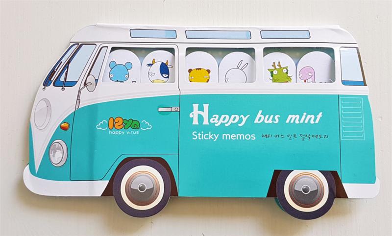 Sticky Notes - VW bus blauw