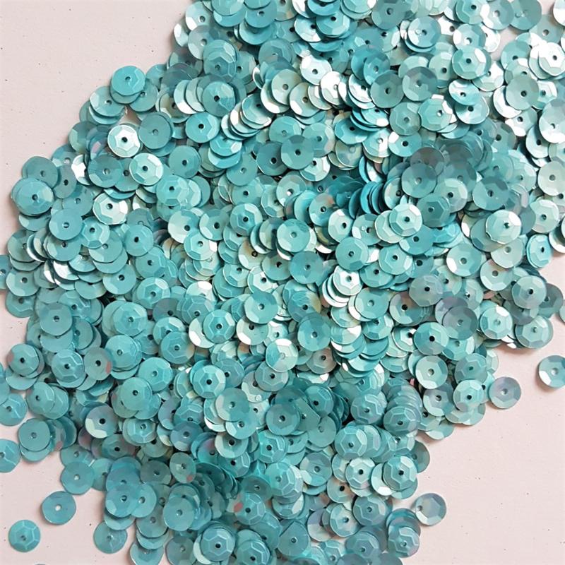 Pailletten - Licht Blauw (10 gram)