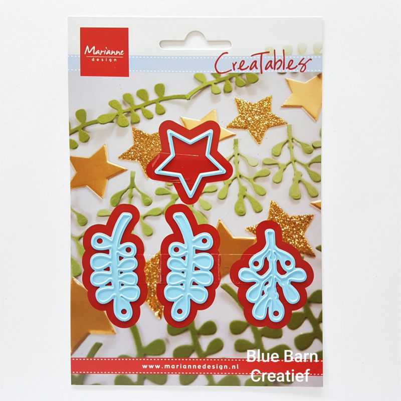 Snijmal Marianne Design - Christmas Green