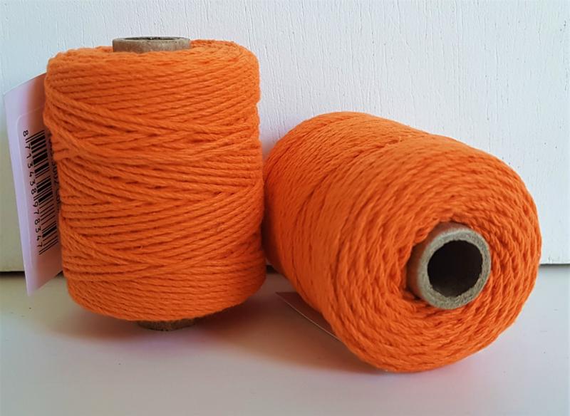 Katoen Koord 2mm - Oranje