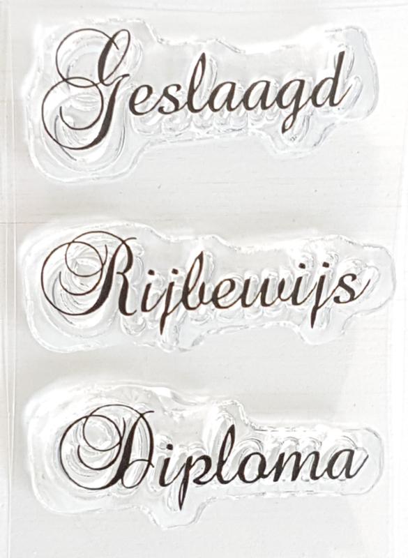 Clear Stamp - SG 03 - Tekst & Zo Stempels