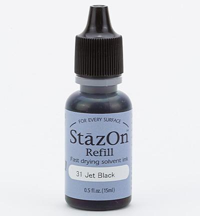 StaZon refill - Jet Black 15ml