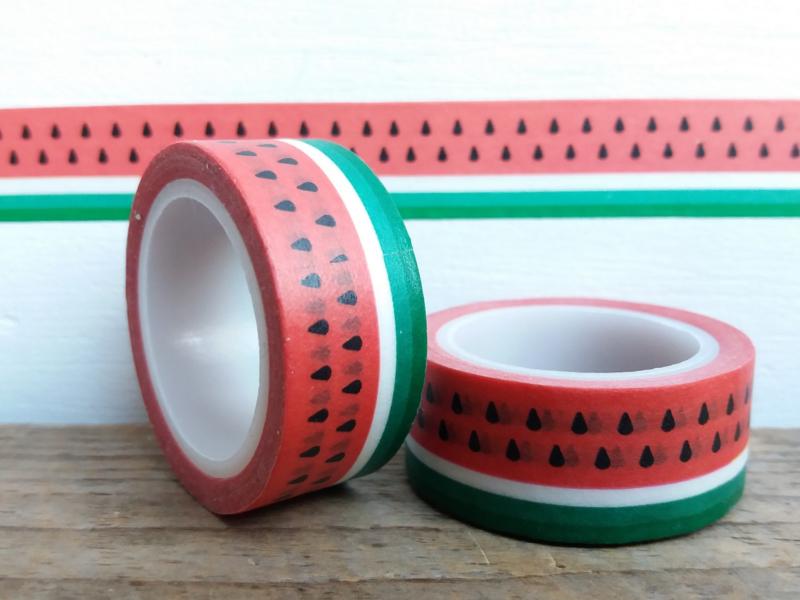 Masking Tape - Watermeloen