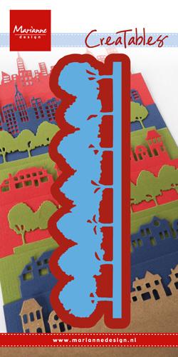 Snijmal Marianne Design - Bomen horizon
