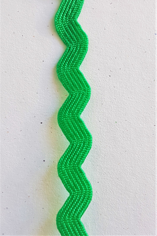 ZigZag lint 5mm - Gras Groen