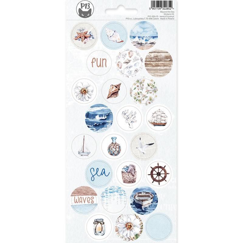 Piatek13 Sticker sheet - Beyond the Sea 03