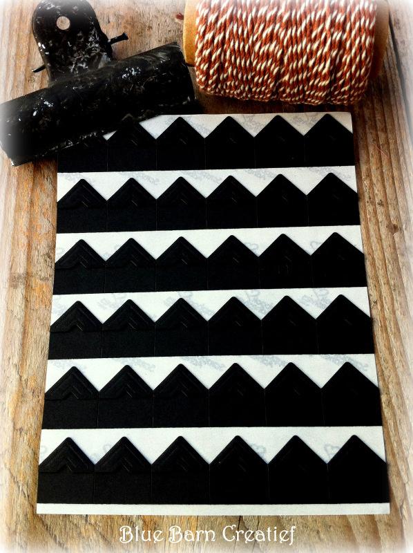 36 Fotohoekjes - Zwart