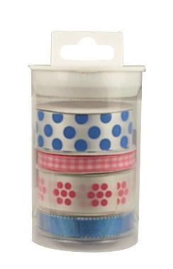 Lint - Stitched Blue-Pink