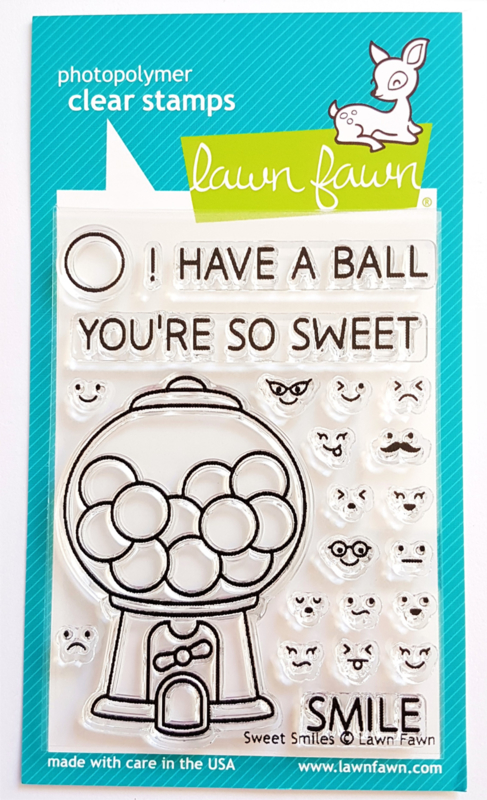 Clear Stamp - Lawn Fawn - Sweet Smiles