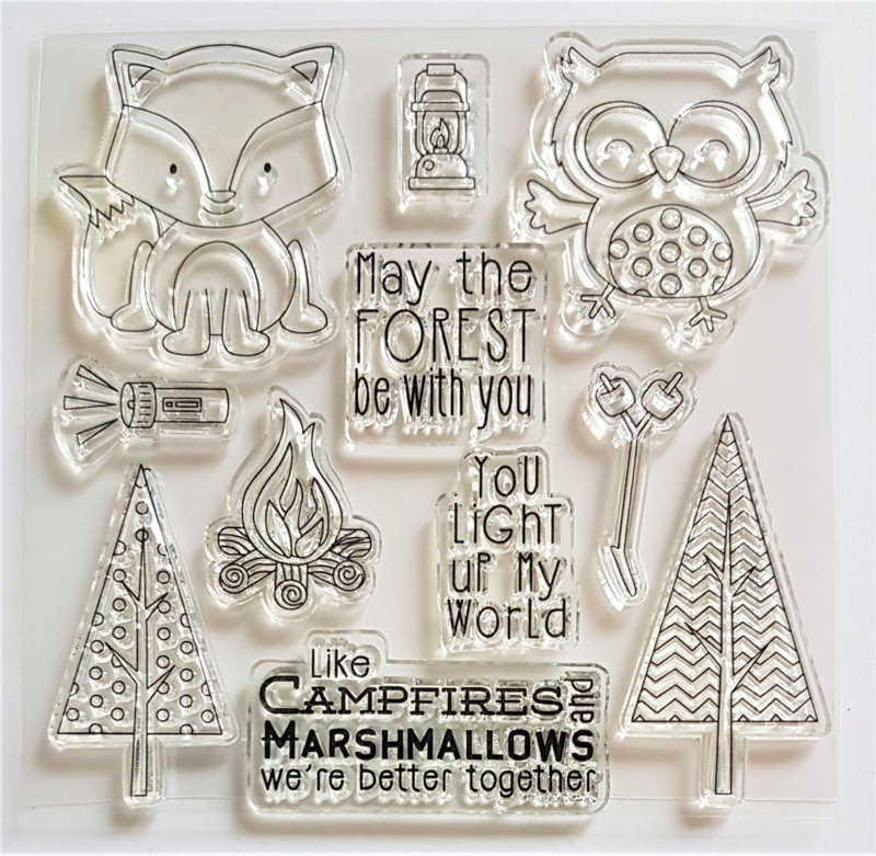 Clear Stamp - May the Forrest be with You