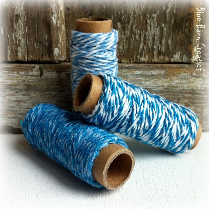 Setje basis twine/touw - BlauwTinten