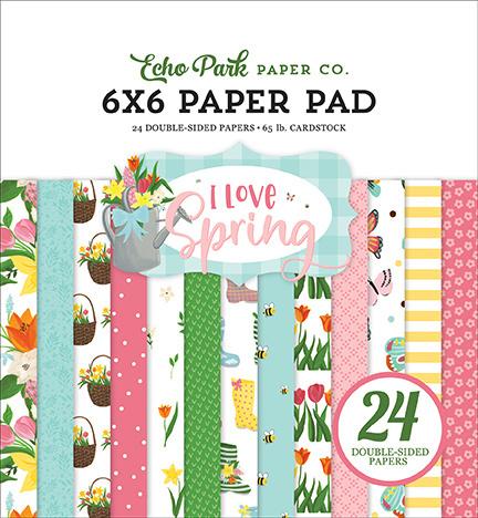 "PaperPad Echo Park - I Love Spring 6"""