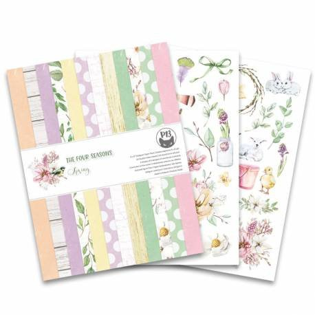 """6x8"""" PaperPad Piatek13 - The Four Seasons 'Spring'"""