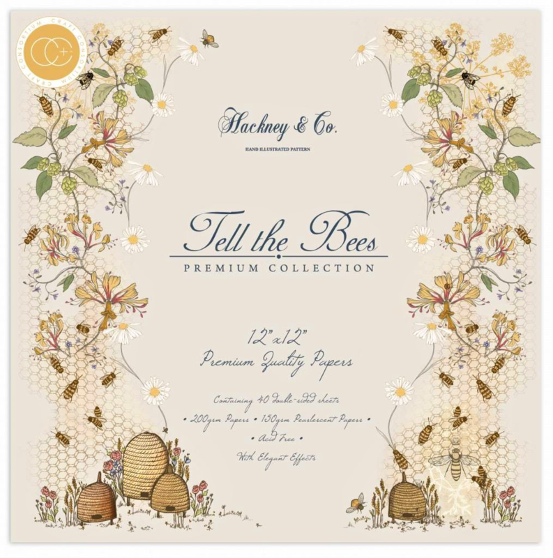 """PaperPad Craft Consortium - Tell the Bees 12"""""""