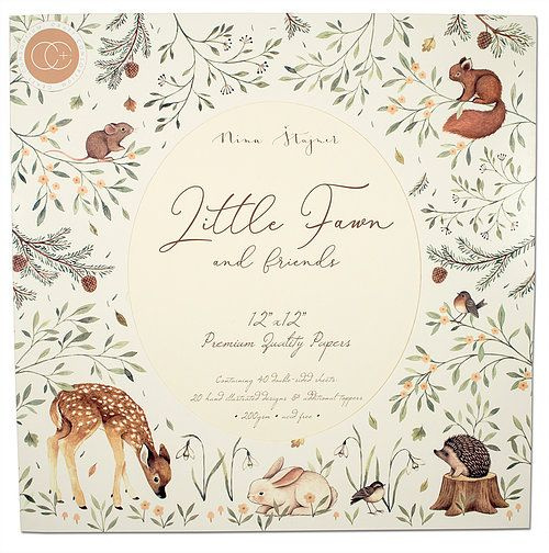 PaperPad Craft Consortium - Little Fawn 12""
