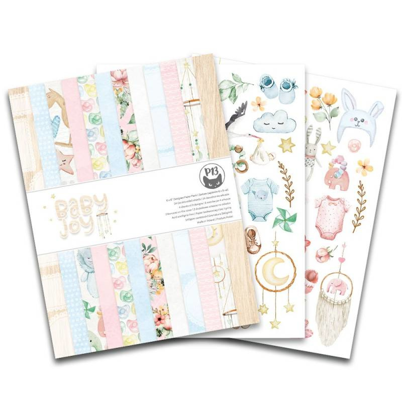 "6x8"" PaperPad Piatek13 - Baby Joy"