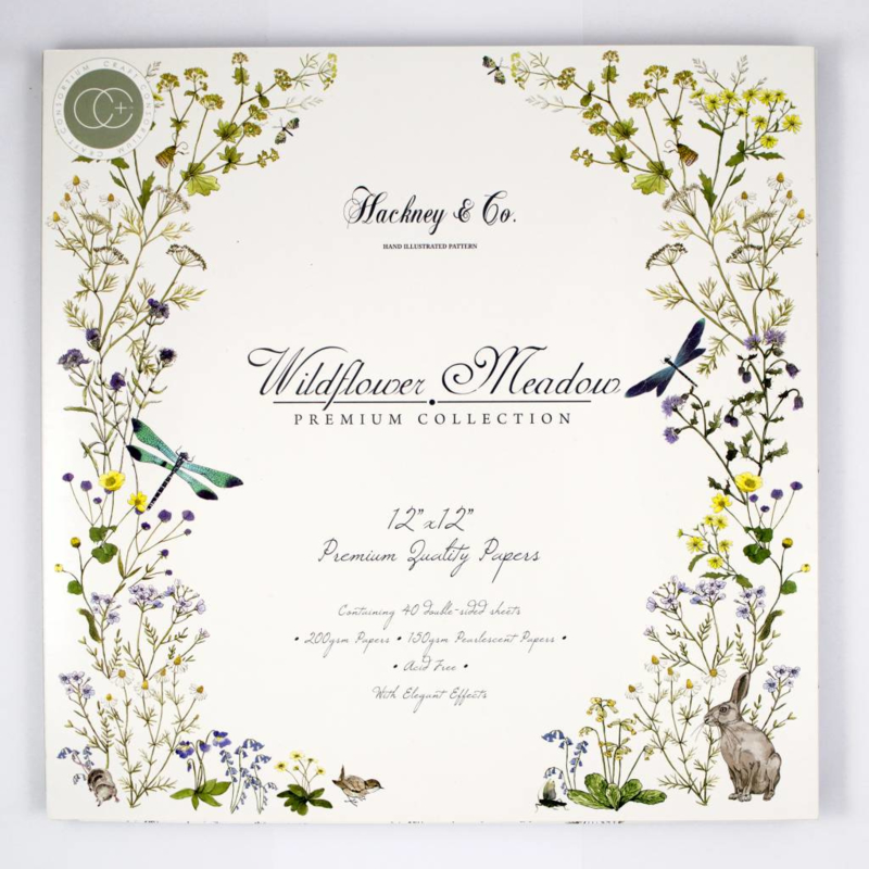 "PaperPad Craft Consortium - Wildflower Meadow 12"""
